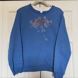 Vintage bird sweatshirt size L
